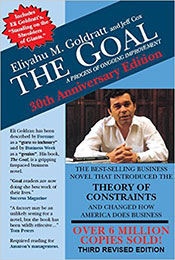 Recommended Reading Book, The Goal, by Eliyahu M Goldratt