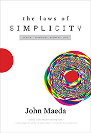 Recommended Reading Book, The Laws of Simplicity by John Maeda