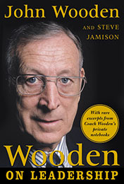 Recommended Reading Book, Wooden on Leadership, by John Wooden